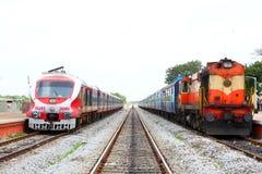 Индийская железная дорога Стоковое Изображение RF