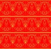 индийская картина Безшовная предпосылка Стоковые Изображения RF