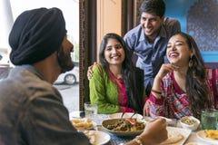 Индийская концепция карри Roti Naan еды еды этничности стоковое фото