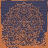 Индийская орнаментальная предпосылка Стоковое Изображение