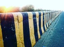 Индийская дорога стоковые фотографии rf