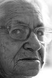 Индийская пожилая женщина Стоковая Фотография