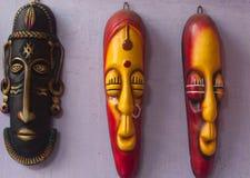 Индийская племенная маска Стоковое Фото