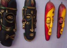 Индийская племенная маска Стоковые Изображения