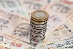 Индийская рупия валюты Стоковые Изображения