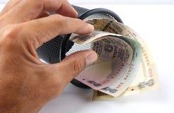индийская рупия Стоковое Изображение RF