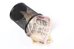 индийская рупия Стоковые Изображения