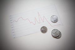 Индийская рупия Стоковая Фотография RF
