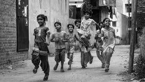 индийская улица жизни Стоковое фото RF