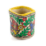 Индийская handmade чашка Стоковые Фотографии RF