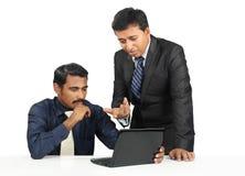 Индийские бизнесмены Стоковые Изображения