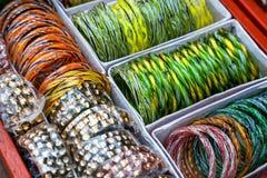 Индийские браслеты Стоковые Изображения