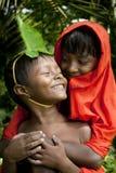 Индийские дети деревни Стоковые Фото