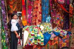 Индийские женщины в национальных одеждах Стоковое Изображение