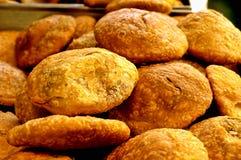 Индийские закуски для продажи Стоковая Фотография RF