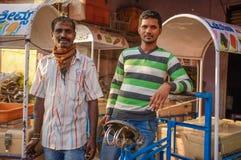 индийские работники стоковое фото