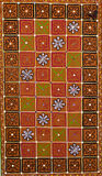 Индийские ремесленничество и искусство на Gujrat Стоковые Фото