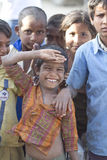 Индийские сельские дети Стоковые Изображения RF