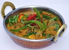Индийское собрание 4 еды Стоковое Изображение