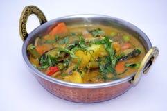 Индийское собрание 10 еды Стоковые Изображения