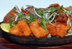 Индийское собрание 12 еды Стоковое Изображение