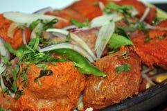 Индийское собрание 26 еды Стоковое Изображение