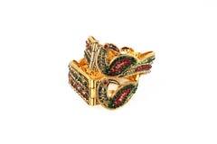 Индийские Bangles золота Стоковое Изображение RF