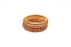 Индийские Bangles золота Стоковые Фотографии RF