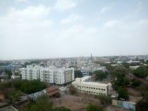 Индийский город Стоковая Фотография