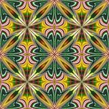 Индийский дизайн ткани иллюстрация штока