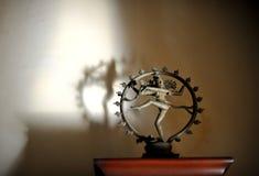 Индийский индусский бог Shiva Nataraja Стоковые Фотографии RF