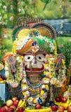 Индийский крупный план Balarama божества стоковые изображения rf