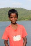 Индийский мальчик Стоковая Фотография