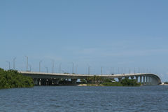 Индийский мост улицы Стоковая Фотография RF