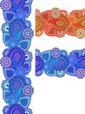индийский орнамент Стоковое Фото