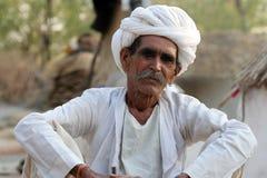 Индийский пожилой гражданин Стоковое фото RF