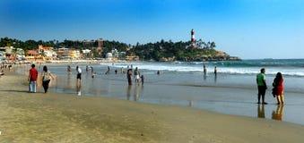 Индийский пляж стоковые изображения