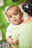 Индийский ребенок младенца стоковое изображение