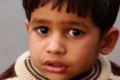 Индийский ребенок Стоковое Фото