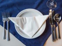 Индийский ресторан и индийская специфическая еда Стоковые Изображения