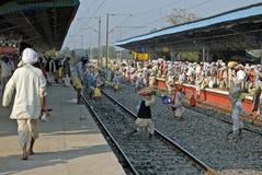 индийский рельс путешествием стоковое фото rf