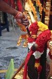 Индийский ритуал в Малайзии Стоковое Изображение RF
