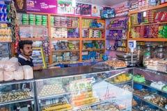 индийский рынок Стоковое Изображение