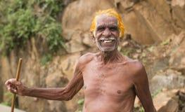 Индийский старший Стоковое Фото