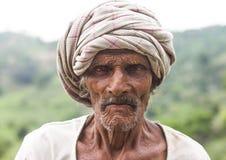 Индийский старший Стоковое Изображение RF