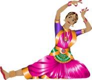 Индийский танцор Стоковое Фото
