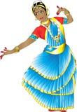 Индийский танцор Стоковая Фотография RF