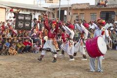 Индийский традиционный танец Стоковые Фотографии RF