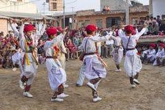Индийский традиционный танец Стоковое Изображение RF