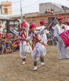 Индийский традиционный танец Стоковые Изображения RF